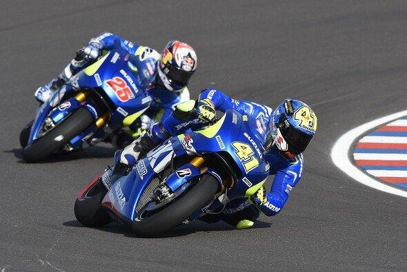 Espargaro und Vinales sind glücklich mit den jüngsten Verbesserungen - Foto: Suzuki