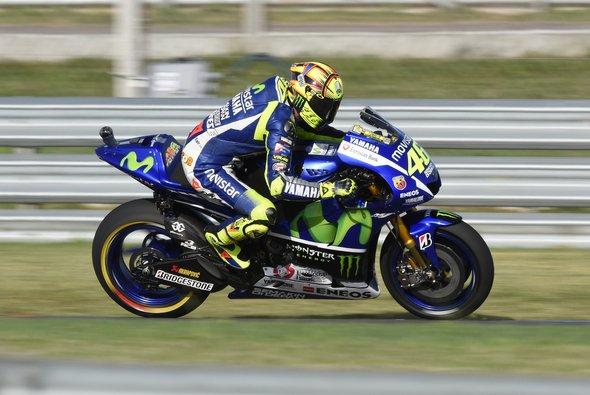 Valentino Rossi fand am Freitag in Jerez keinen Grip - Foto: Monster