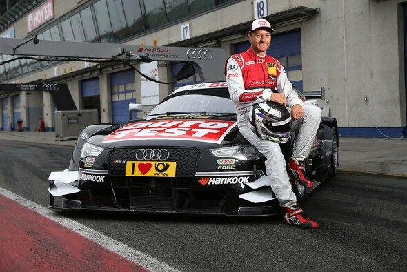Timo Scheider fährt 2015 einen Audi RS 5 DTM für das Phoenix-Team - Foto: Audi
