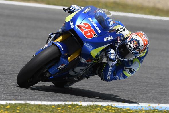 Maverick Vinales war nicht zufrieden mit P11 - Foto: Suzuki