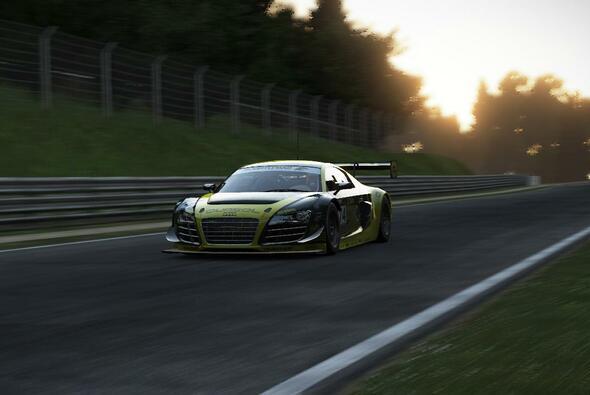 Ab geht's: Im Audi R8 LMS ultra über die Nürburgring-Nordschleife - Foto: Project CARS