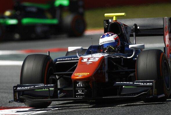 Rene Binder freut sich auf die Rennen auf dem Red Bull Ring - Foto: GP2 Series