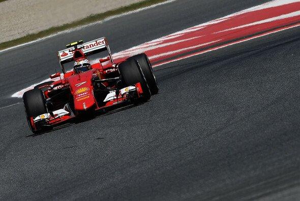 Kimi Räikkönen kämpfte in Barcelona mit mannigfaltigen Problemen - Foto: Ferrari