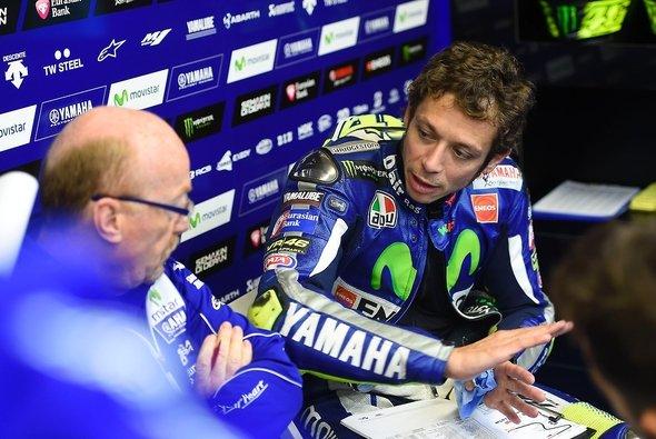 Die Zusammenarbeit zwischen Valentino Rossi und Silvano Galbusera endet nach fünf Jahren - Foto: Yamaha