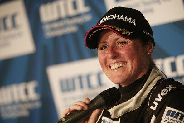 Absoluter Fan-Liebling: Die verstorbene Rennfahrerin Sabine Schmitz - Foto: WTCC