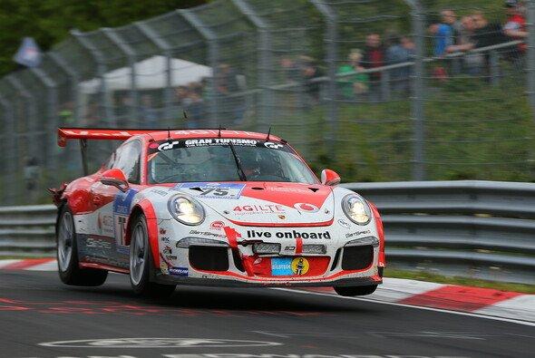 Der Getspeed-Porsche sendete 24 Stunden lang Live-Bilder - Foto: Patrick Funk