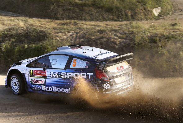 Der neue Ford Fiesta RS WRC feierte bei der Rallye Portugal sein Debüt - Foto: Ford