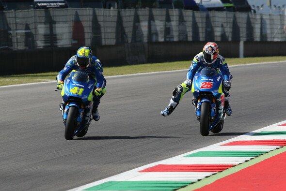 Beide Suzuki-Piloten fuhren in Mugello ein gutes Qualifying - Foto: Tobias Linke