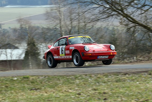 Fünf Porsche 911 waren am Start - Foto: Youngtimer Rallye Trophy