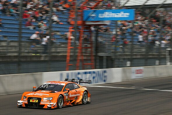 Jamie Green gewinnt auch am Sonntag in der Lausitz - Foto: Audi