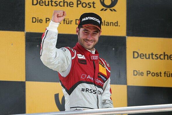 Miguel Molina freute sich am Sonntag über ein Podium - Foto: Audi