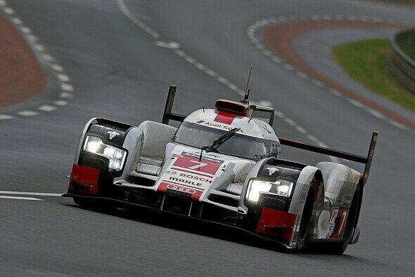 Glasklare Favoriten: Marcel Fässler, Andre Lotterer und Benoit Treluyer sind die Titelverteidiger - Foto: Audi