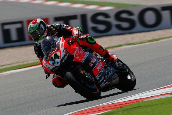 Davide Giuliano steht morgen auf der Pole Position - Foto: WSBK