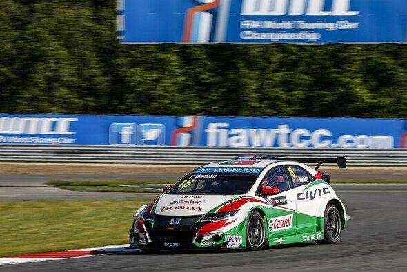 Monteiro fuhr seinen ersten Sieg seit über zwei Jahren ein - Foto: WTCC