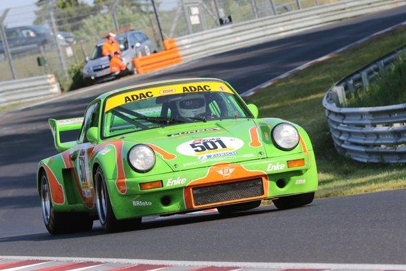 Im vergangenen Jahr gewann der grüne Porsche in Spa - Foto: Youngtimer Trophy
