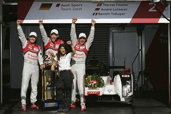 Audi siegte 2014 in Le Mans - Foto: Audi