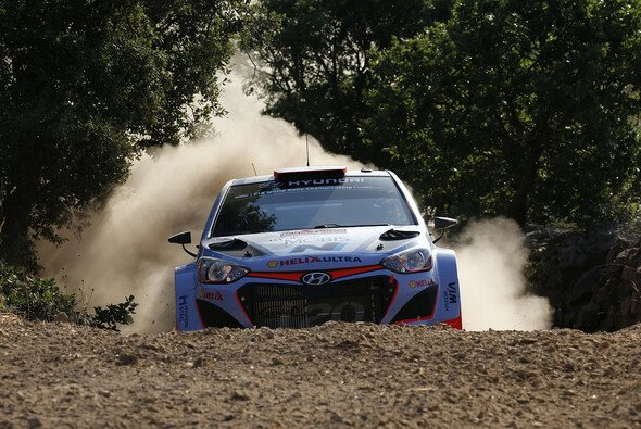 Dani Sordo beklagte sich über die Charakteristiken des Shakedowns - Foto: Hyundai