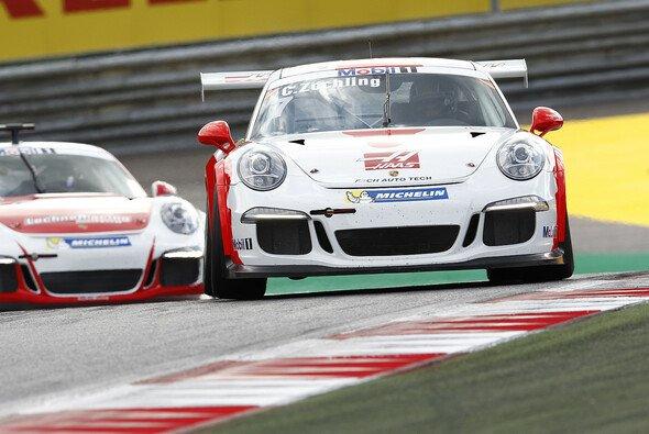 Christopher Zöchling kam durch einen Last-Minute-Deal zum Einsatz - Foto: Porsche