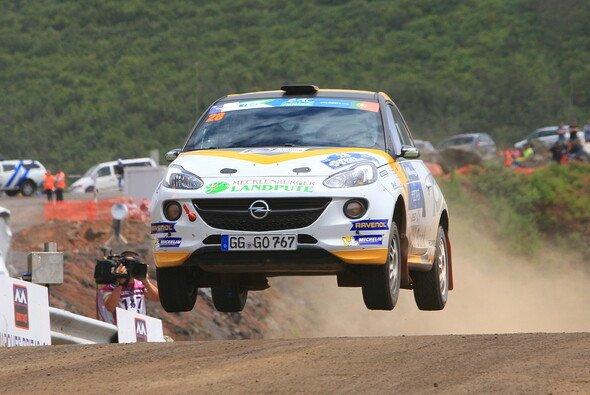 Marijan Griebels Ziel in Ypern ist das Podest - Foto: ADAC Opel Rallye Cup