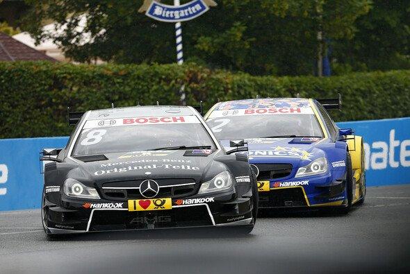 Die Mercedes-Piloten geben sich zurückhaltend optimistisch vor Zandvoort - Foto: DTM