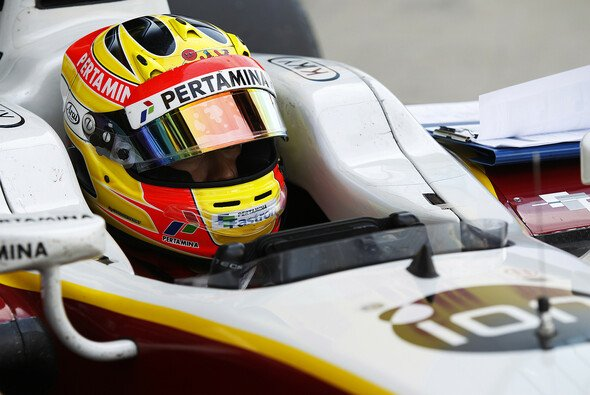Bislang war Rio Haryanto in der GP2 unterwegs - Foto: GP2 Series