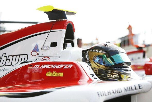 Marvin Kirchhöfer fühlt sich sicher in seinem Cockpit - Foto: GP3 Series