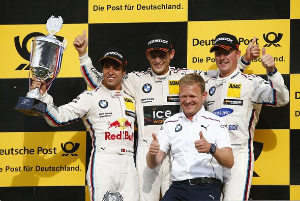 Jubel, Trubel, Heiterkeit bei BMW - Foto: DTM