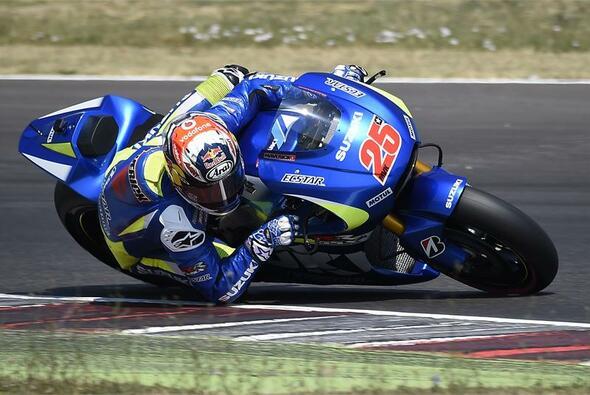 Maverick Vinales hat endlich mehr Traktion in seiner Suzuki entdeckt - Foto: Suzuki