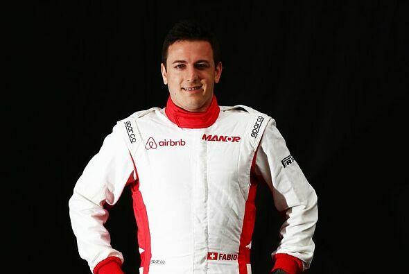 Geschafft: Fabio Leimer wird am Freitag fahren - Foto: Manor Marussia F1 Team