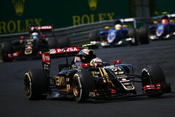 Romain Grosjean und Lotus rechnen sich in Spa gute Chancen aus. - Foto: Lotus