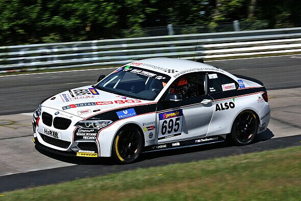 Das letzte Rennen der VLN verlief für das Duo Kratz/Warum mehr als ernüchternd - Foto: BMW