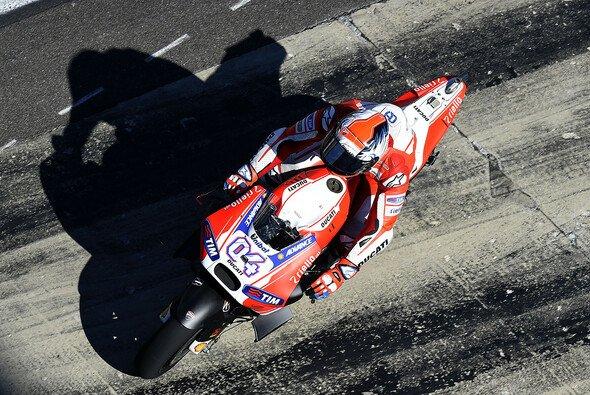 Andrea Dovizioso war erster Verfolger von Lorenzo und Marquez - Foto: Ducati