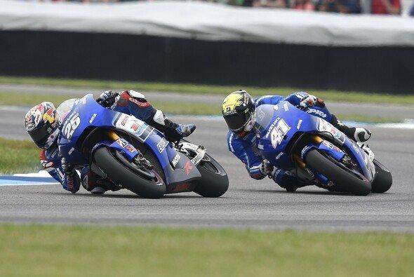 Beide Suzuki-Piloten kämpften im Rennen mit Problemen - Foto: Suzuki
