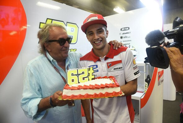 Andrea Iannone mit Manager Carlo Pernat