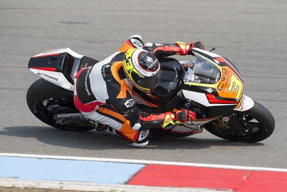 Corsi erfreute das gebeutelte Forward-Team - Foto: Forward Racing