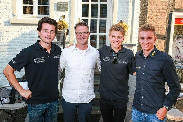 Luca Ludwig, Ralf Schumacher, Sebastian Asch und Tim Zimmermann - Foto: ADAC GT Masters