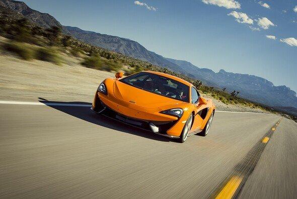 Der 570S ist das neue Einstiegsmodell von McLaren - Foto: McLaren Automotive