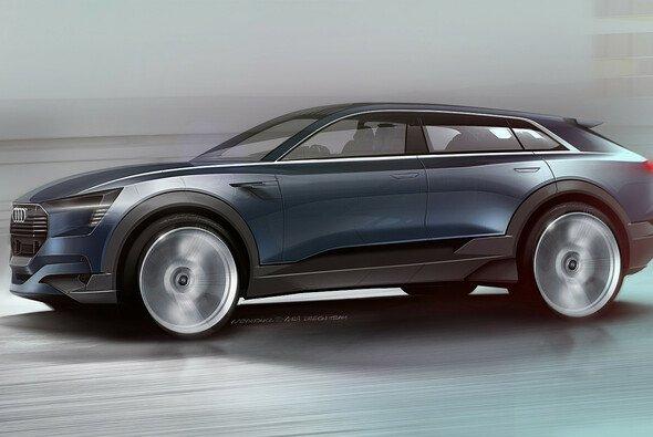 Die Studie mutet futuristisch an - Foto: Audi AG