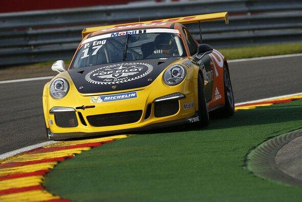 Phlipp Eng fährt zum fünften Mal in dieser Saison auf das Podest - Foto: Porsche AG