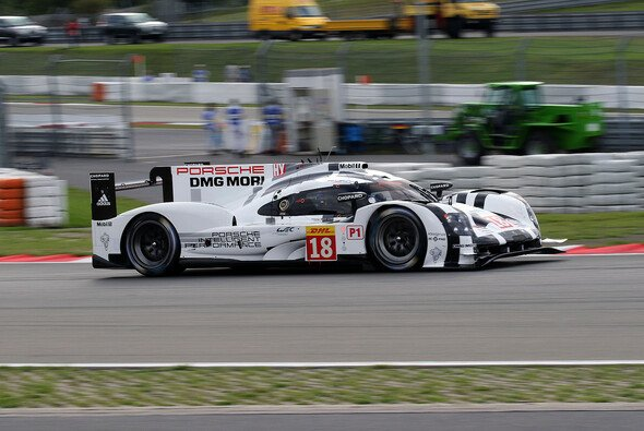 High Downforce sticht: Der Porsche 919 Hybrid schockte die Gegner am Nürburgring - Foto: Speedpictures