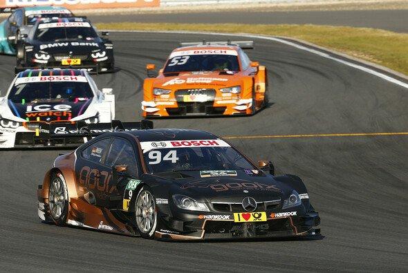 Pascal Wehrlein musste seine Führung in der Gesamtwertung wieder abgeben - Foto: Mercedes-Benz