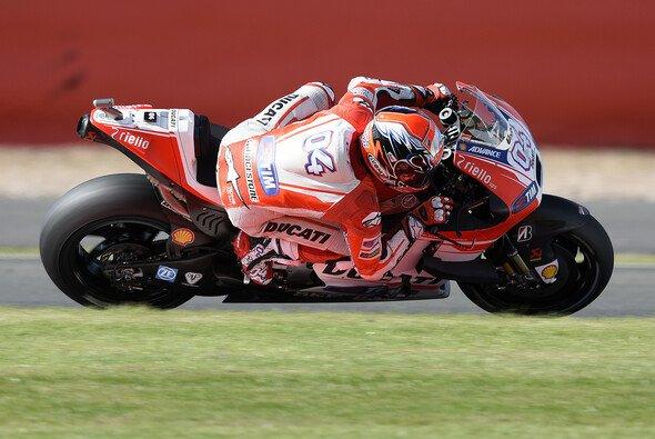 Andrea Dovizioso war am Freitag klar schnellster Ducati-Pilot - Foto: Ducati