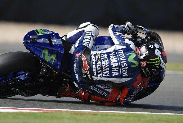 Jorge Lorenzo war am Freitag schnellster Mann auf der Strecke - Foto: Yamaha