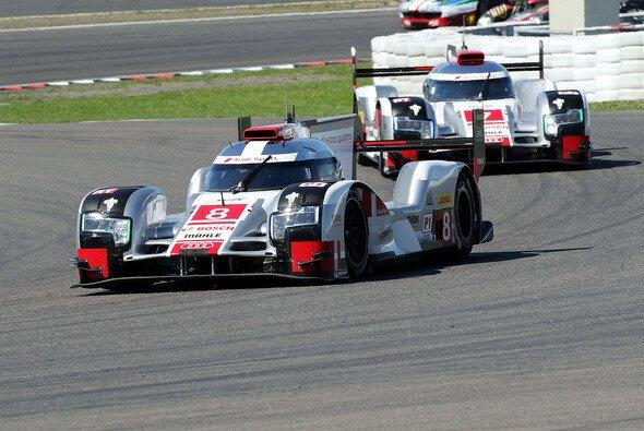 Hat nicht sollen sein: Audi war auf dem Nürburgring zweite Kraft - Foto: Speedpictures