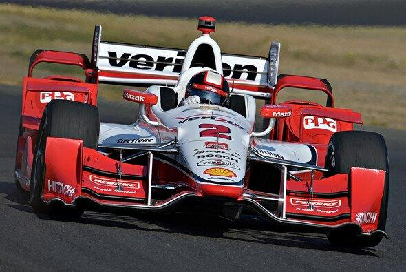 Der Ausfall im Rennen kostete Juan Pablo Montoya den Titel - Foto: IndyCar
