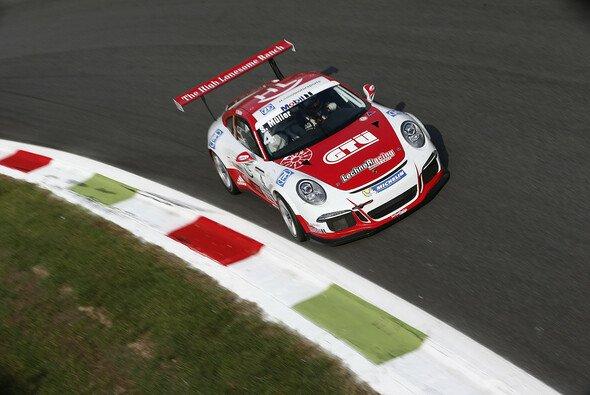 Flog in Monza: Porsche-Junior Sven Müller - Foto: Porsche AG