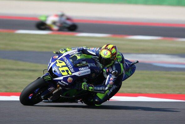 Ein übler Fall von Deja-vu: Valentino Rossi war am Freitag zu langsam - Foto: Tobias Linke