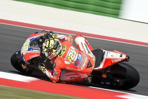 Andrea Iannone blickt einem harten Wochenende entgegen - Foto: Ducati