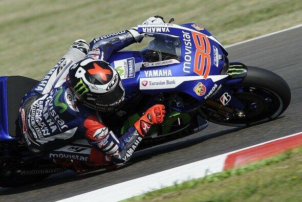 Jorge Lorenzo zeigte die beste Pace im 4. Training - Foto: Yamaha