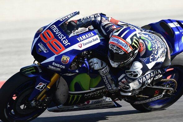 Niemand konnte Jorge Lorenzo am bisherigen Wochenende das Wasser reichen - Foto: Yamaha
